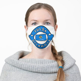 Tulsa Oklahoma Adult Cloth Face Mask