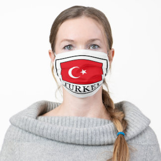 Turkey Adult Cloth Face Mask