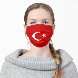 Turkey Flag Adult Cloth Face Mask