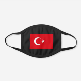 Turkey Flag Cotton Face Mask