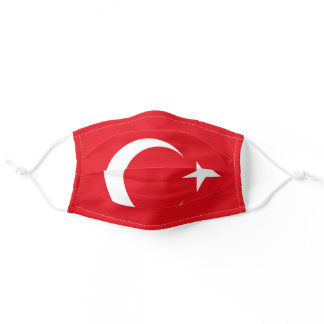 Turkey Flag Face Mask