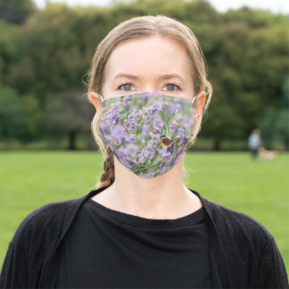 Turn the crisis into something pretty with this adult cloth face mask