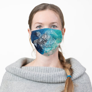 turtle adult cloth face mask