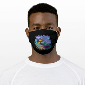Turtles Dive Adult Cloth Face Mask