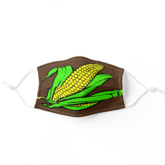 Two Ears of Yummy Corn Essential Care Washable Adult Cloth Face Mask