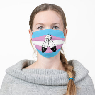 Two-Spirit Trans Pride Flag Adult Cloth Face Mask