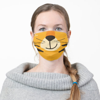 Tyler Tiger Adult Cloth Face Mask