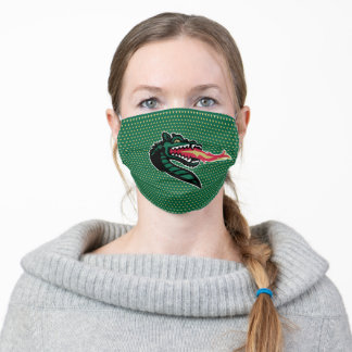 UAB Blazers Polka Dot Pattern Adult Cloth Face Mask