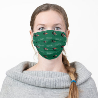 UAB Green Pattern Adult Cloth Face Mask
