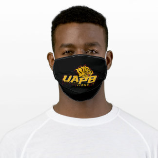UAPB Golden Lions Logo Adult Cloth Face Mask