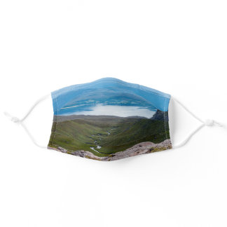 UK, Scotland - Scottish Highlands landscape Adult Cloth Face Mask