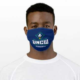 UNCW Seahawks Adult Cloth Face Mask