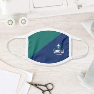 UNCW Seahawks Colorblock Face Mask