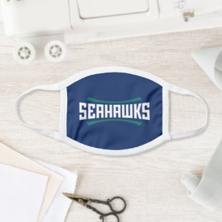 UNCW Seahawks Wordmark Face Mask