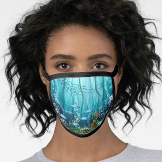 Under the Sea All-Over Print Face Mask