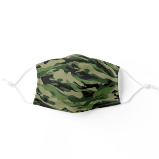 Undercover Camo Camouflage Cloth Face Mask Cover