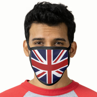 Union Jack British Flag Face Mask