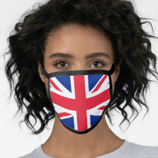 Union Jack / British flag Face Mask