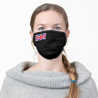 Union Jack on Black Mask