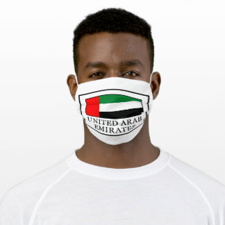 United Arab Emirates Adult Cloth Face Mask