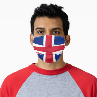 United Kingdom Union Jack British Flag Adult Cloth Face Mask