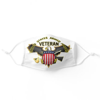 United States Armed Forces Veteran Adult Cloth Face Mask