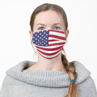 United States of America USA American Flag Unisex Adult Cloth Face Mask