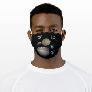 Universe Planets Solar System Milky Way Adult Cloth Face Mask