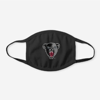 University of Maine Black Bears Black Cotton Face Mask
