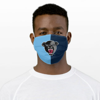 University of Maine Black Bears Color Block Adult Cloth Face Mask
