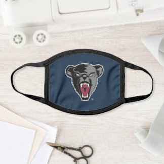 University of Maine Black Bears Face Mask