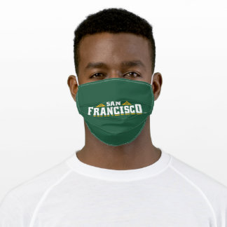 University of San Francisco Logo Adult Cloth Face Mask