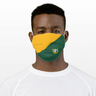 University of San Francisco SF Logo Colorblock Adult Cloth Face Mask