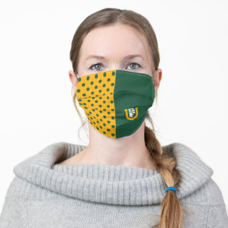 University of San Francisco SF Logo Dots Adult Cloth Face Mask