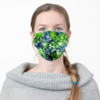 Urban Camouflage Mosaic Pattern Adult Cloth Face Mask