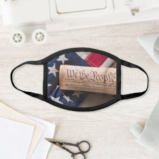 US Constitution Face Mask