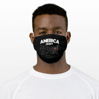 USA gift Ohio State Adult Cloth Face Mask