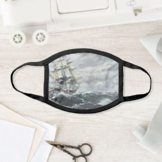 USS Constitution heads for HM Frigate Guerriere Face Mask