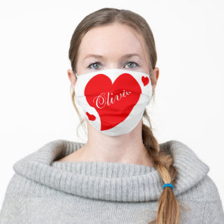 valentines day adult cloth face mask