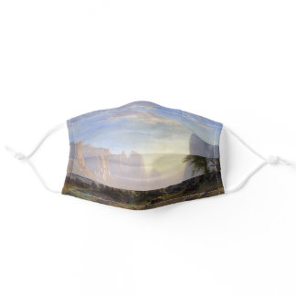 Valley of the Yosemite Bierstadt Painting Adult Cloth Face Mask