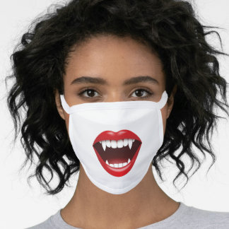 Vampire teeth face mask