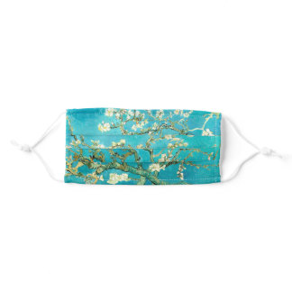 VAN GOGH Almond Blossoms Adult Cloth Face Mask