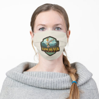 Vancouver, Canada Cloth Face Mask