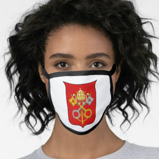 Vatican coat of arms face mask