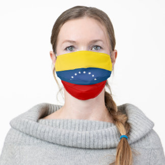 Venezuela Flag Adult Cloth Face Mask