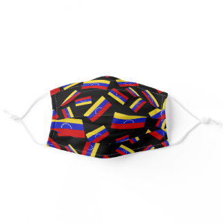 Venezuelan Flag | Clustered Pattern Adult Cloth Adult Cloth Face Mask