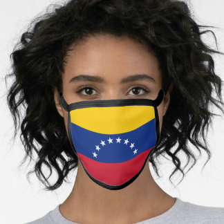 Venezuelan Flag Face Mask