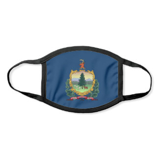 Vermont State Flag Face Mask