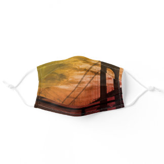 Verrazzano-Narrows Bridge NYC USA Adult Cloth Face Mask