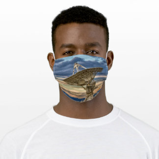 Very Large Array at sunset Adult Cloth Face Mask